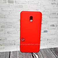 Силиконовый чехол Aspor для Xiaomi Redmi 8A красный