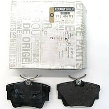 Колодки тормозные задние Renault Trafic 2 (Original 7701054772)