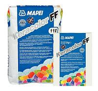 Затирка для  швов цементная 2 кг, KERACOLOR FF144(шоколад) Mapei, фото 1