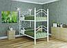 Кровать двухъярусная металлическая Диана