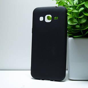 "Силіконовий чохол Samsung J320 ""VIP"" Чорний (black)"