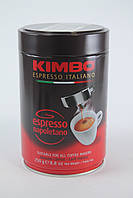 Кофе молотый в банке KIMBO ESPRESSO NAPOLETANO 250 грам Италия