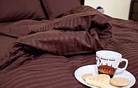 Двоспальна постільна білизна зі страйп сатину (Постельное белье из страйп сатина)