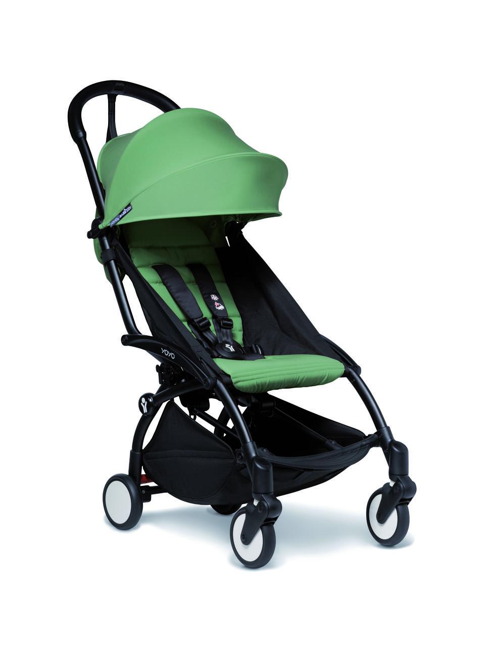 Прогулочная коляска BABYZEN YOYO² с 6 месяцев (шасси Black) Peppermint (BZ10109-02, BZ10104-08)
