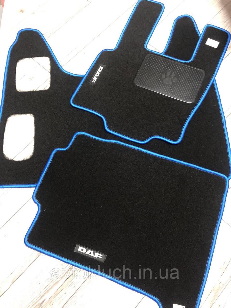 Коврики автомобильные DAF XF 105 МКПП  2005-2013