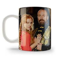 Кружка чашка Хюррем и султан Великолепный век