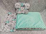 Набор в детскую кроватку ( коляску) Манюня, фото 9