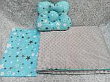 Набор в детскую кроватку ( коляску) Манюня, фото 10