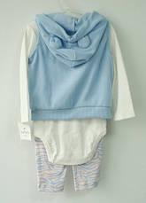 Комплект (костюм) 3в1 від Carters (фліс) для дівчаток, фото 3