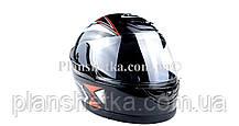 Шлем для мотоцикла Hel-Met 802 черный, фото 3