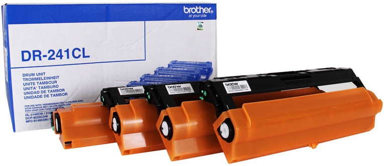 Драм-картридж Brother DR-241CL HL3140CW/HL3170CDW/DCP9020CDW/MFC9330CDW 15000 страниц 4 цвета
