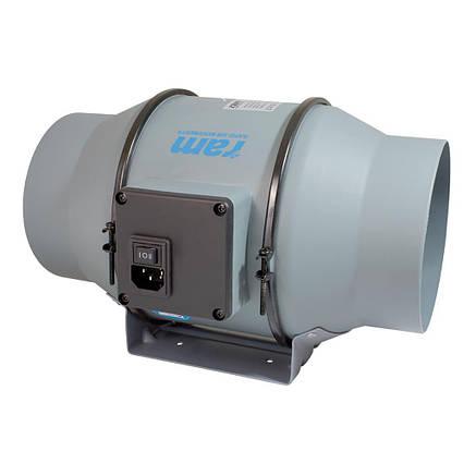Вентилятор канальный RAM 2 скорости 150 мм, фото 2