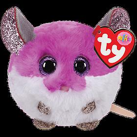 М'яка іграшка ty puffies фіолетова мишка (сова, хаскі, єдиноріг, рожевий єдиноріг, кошеня) (42505)
