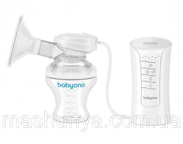 Молокоотсос электрический 3 в 1 Baby Ono Natural Nursing 300
