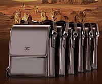 Мужская кожаная сумка. Модель 63160, фото 9