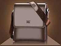 Мужская кожаная сумка. Модель 63160, фото 10