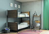 Кровать двухъярусная металлическая Арлекино, фото 1