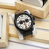 Часы мужские наручные оргинальные Curren 8314 Khaki-Black