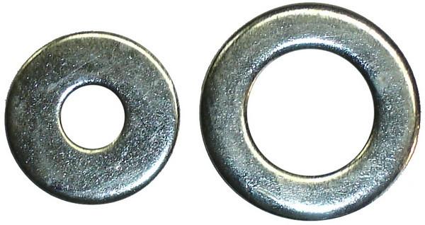 Шайбы плоские стальные ГОСТ 11371-78 DIN 125