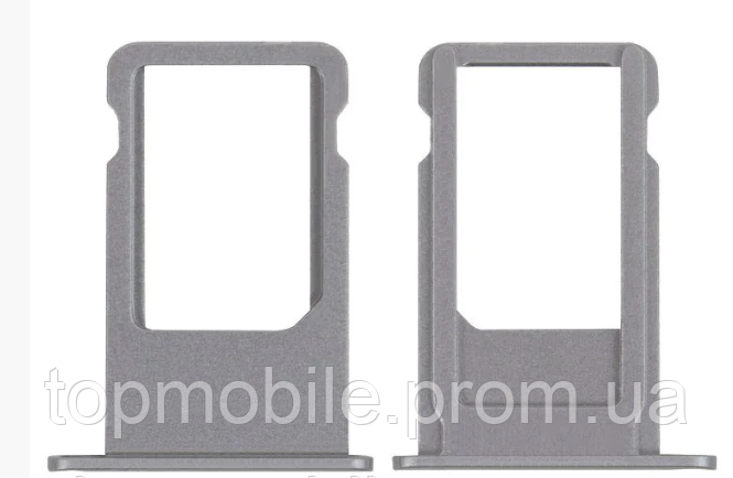 Держатель Sim-карты iPhone 6S Plus, серый