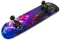 Скейтборд деревянный Scale Sports Space