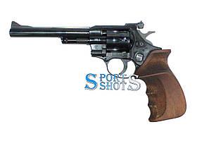 Револьвер под патрон Флобера Weihrauch HW4 6'' с деревянной рукоятью