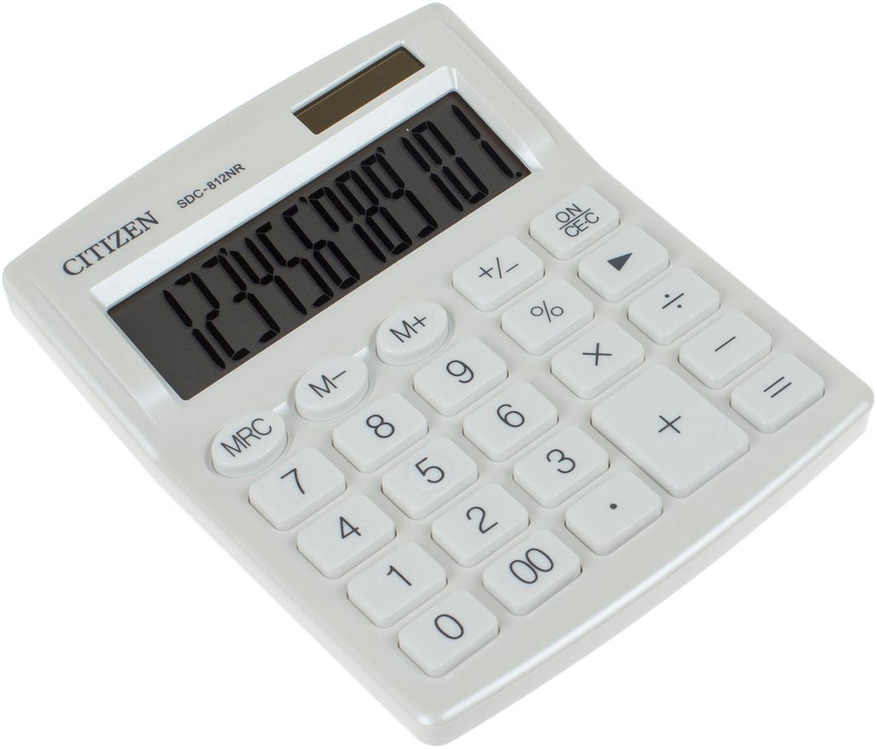 """Калькулятор """"Citizen"""" №SDC812NRWHE white"""
