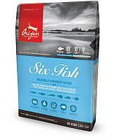 Orijen 6 Fish (Ориджен 6 Фиш) сухой корм для котят и кошек всех пород