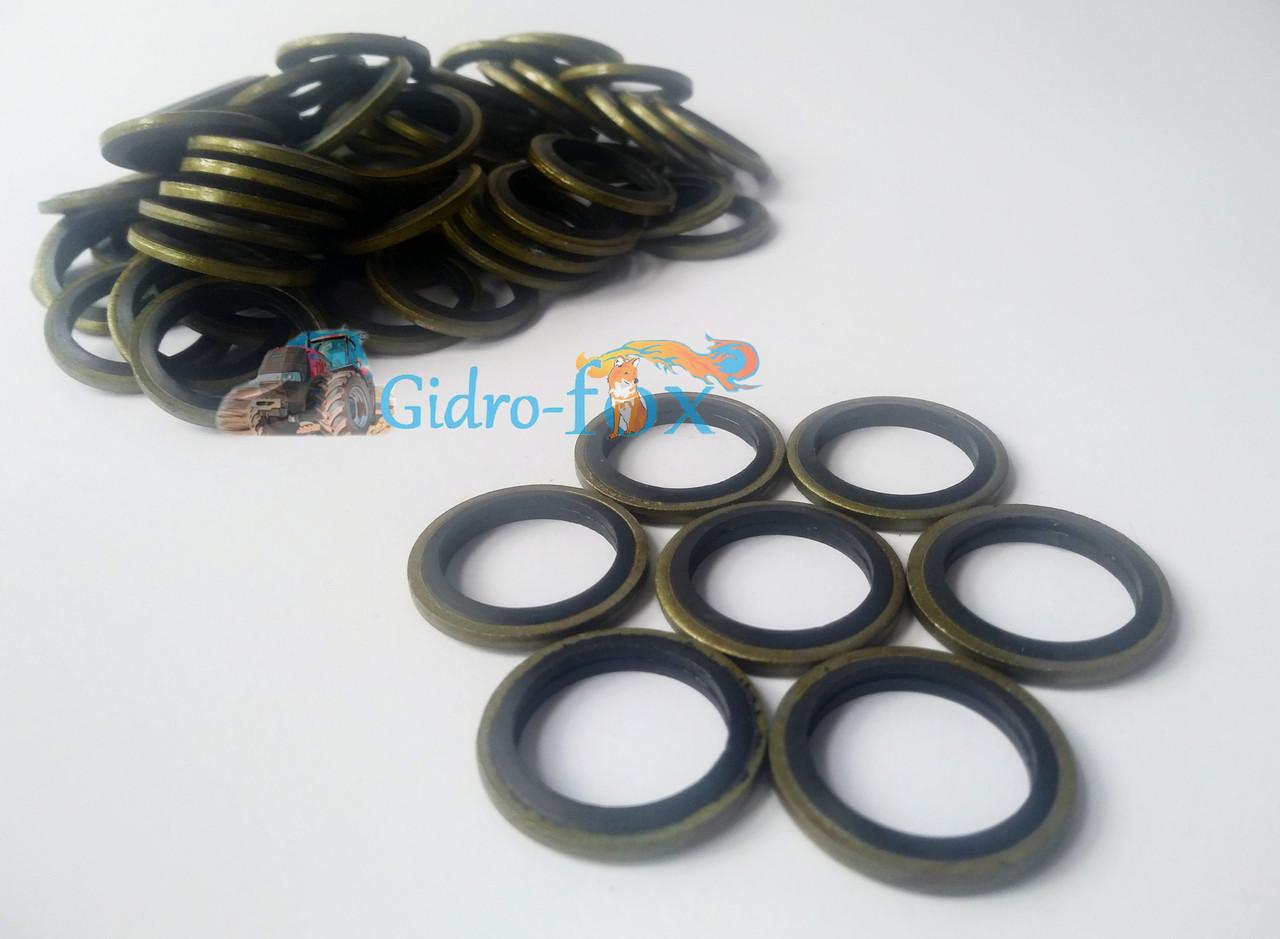 Уплотнительное металлизированное кольцо (шайба) для распределителя, дозатора, топливного насоса