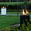 Садовый камин газовый KRATKI PATIO MINI белый пульт, фото 6