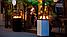 Садовый камин газовый KRATKI PATIO MINI белый пульт, фото 8