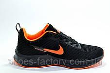 Кроссовки унисекс в стиле Nike Flyknit Lunar, Black\Orange, фото 3