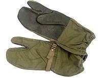 Рукавицы для стрельбы, с кожаными накладками. Бундесвер., фото 1