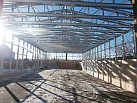 Строительство складов для охлаждения продукции. ЛСТК Изготовление металлоконструкций. Доставка по всей Украине