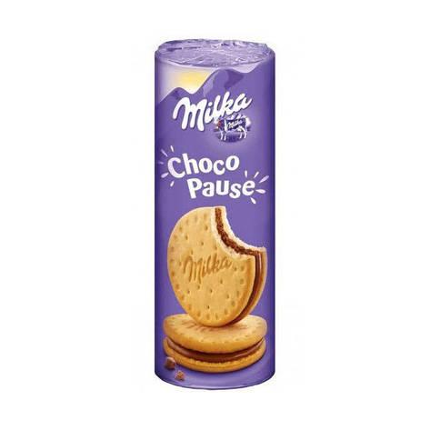 Milka Choco Pause печиво-сендвіч 260 г, фото 2