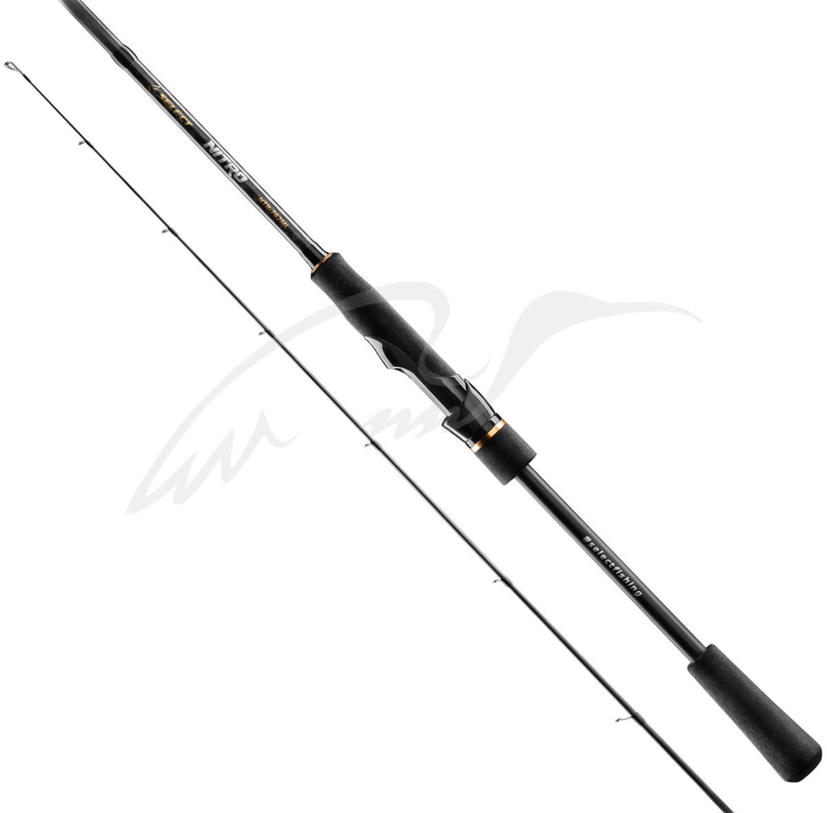 Спиннинг Select Nitro NTR-702M 2.13m 5-21g Fast