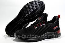 Летние мужские кроссовки Baas 2020, Black\Red (Бас), фото 3