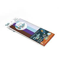 Набор стержней для 3D-ручки 3Doodler Start - МИКС (белый, голубой, коричневый, фиолетовый)