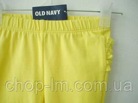 Лосины (легинсы) на девочку Old Navy (желтые), фото 2