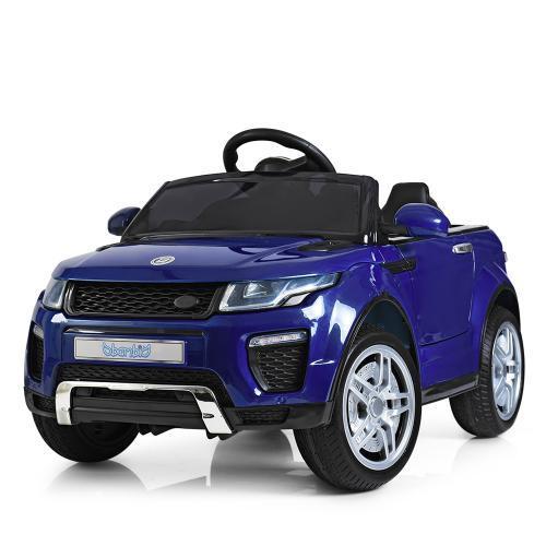 Электромобиль детская машина синяя Bambi Range Rover M 3213EBLRS-4
