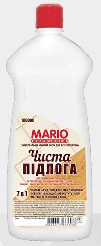 Миючий засіб для підлоги 1 л Маріо Mario