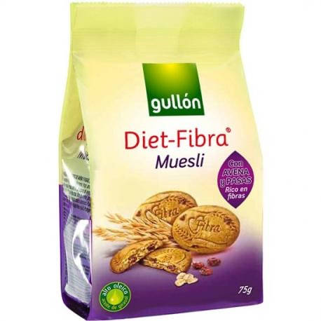 Печиво GULLON Diet Fibra Muesli 75 г, фото 2