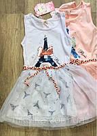 Платье для девочек оптом, S&D,116-146 рр., арт. CH-5055, фото 7