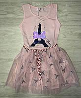 Платье для девочек оптом, S&D,116-146 рр., арт. CH-5055, фото 2