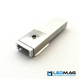 Крепление для LED профиля ЛП7 (LP7), YF102-2, 16х7 мм, 15х6 мм