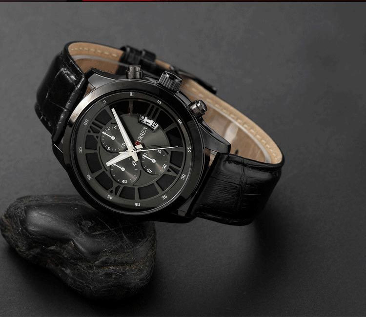 Часы мужские Curren Touareg black-black