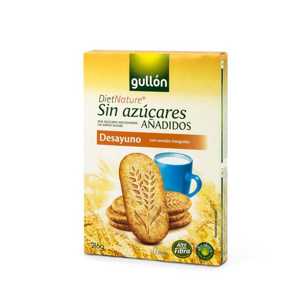 Печиво GULLON без цукру Desayuno Diet Nature, 216г