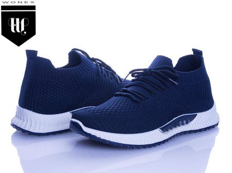 Кроссовки мужские Wonex 45-58 синие