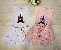 Платья для девочек оптом, S&D, 116-146 см,  № CH-5055, фото 1