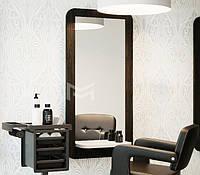 Компактное рабочее место парикмахера M411 с полочкой